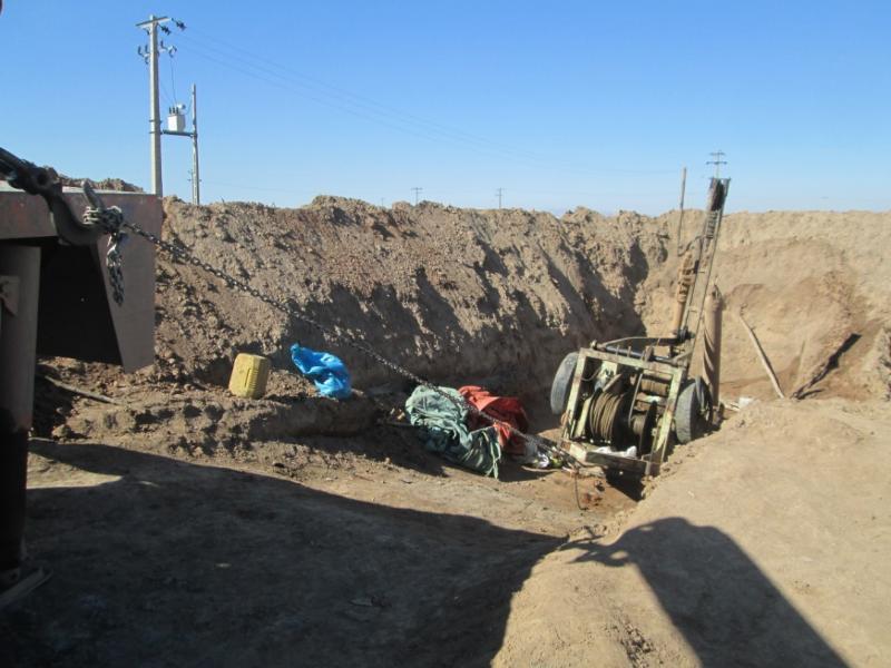 پُر شدن بیش از دو هزار حلقه چاه طی سال گذشته در خراسان رضوی
